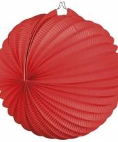Bollampion rood 22 cm