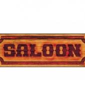 Bord voor een saloon
