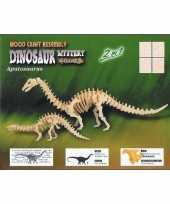 Bouwpakket met 2 dinosauriers
