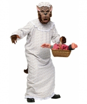 Boze wolf oma kostuum