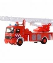 Brandweer ladderwagen 15 cm