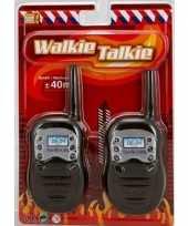 Brandweer walky talkie speelgoed voor kinderen