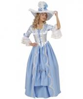 Britse hofdame kostuum