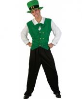 Broekpak groen voor heren