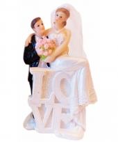 Bruidstaart figuurtjes love type 2