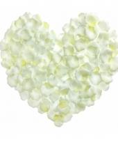 Bruiloft rozenblaadjes wit 500 stuks