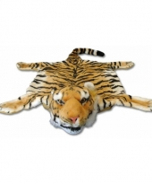 Bruin tijgervelkleed 74 x 90 cm
