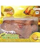 Bruine dinosaurus tandarts spel