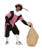 Budget zwarte pieten kostuum