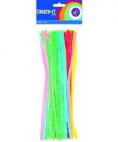 Buigbare fluorescrerende pijpenragers 30 cm 50 st
