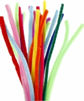 Buigbare pijpenragers in verschillende kleuren 30 cm 200 st