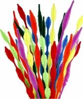 Buigbare pijpenragers in verschillende kleuren 30 cm 28 st