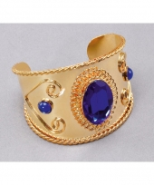 Buikdanseres armband goud