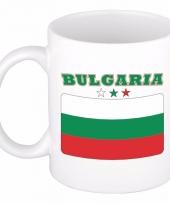 Bulgaarse vlag koffiebeker 300 ml