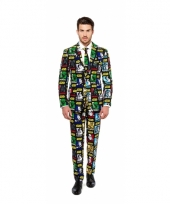 Business suit met star wars print