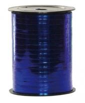 Cadeau lint metallic blauw 250 meter