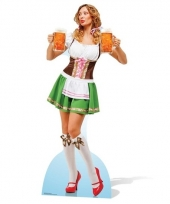 Cafe decoratie oktoberfest dame