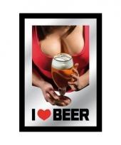 Cafe versiering bier wand spiegel 10059611