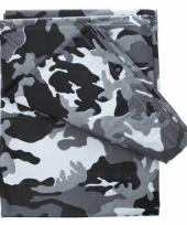 Camouflage afdekzeilen 4 x 3 meter