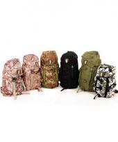 Camouflage rugzak van nylon 35 liter