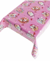 Camping tafelzeil kitsch roze 140 x 240 cm