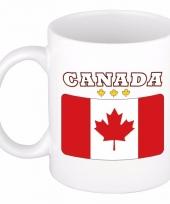 Canadese vlag koffiebeker 300 ml