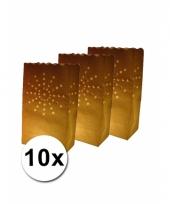 Candle bags vuurwerk 10 stuks