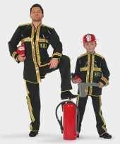 Carnaval brandweer kostuum kind