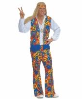 Carnaval hippie kleding heren 10027383