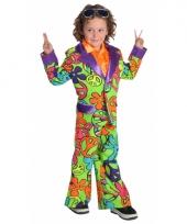 Carnaval hippie pak voor kinderen