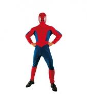 Carnaval spinnenheld kostuum volwassenen