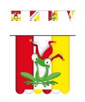 Carnaval vlaggenlijn karton 3 meter