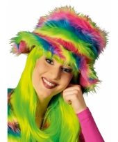 Carnavalshoed neon