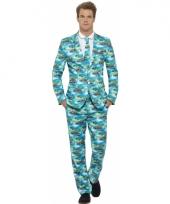 Carnavalskleding heren kostuum hawaii