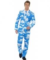 Carnavalskleding heren kostuum wolken