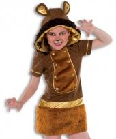 Carnavalskleding leeuwtje voor meiden