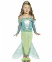 Carnavalskleding zeemeerminnen kostuum voor meisjes