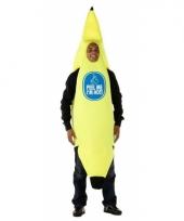 Carnavalskostuum bananen pak