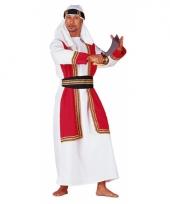 Carnavalsoutfit woestijnprins