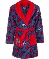 Cars fleece kamerjas rood blauw voor kids