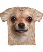 Chihuahua face shirt the mountain 10084731