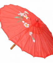 Chinese stijl paraplu groot rood