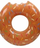Chocolate donut zwemband