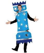 Christmas cracker kostuum