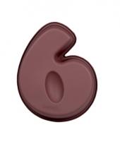 Cijfer bakvorm nummer 6