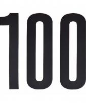 Cijfers nummers stickers 100