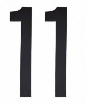 Cijfers nummers stickers 11