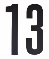 Cijfers nummers stickers 13