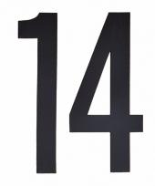 Cijfers nummers stickers 14