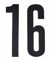 Cijfers nummers stickers 16